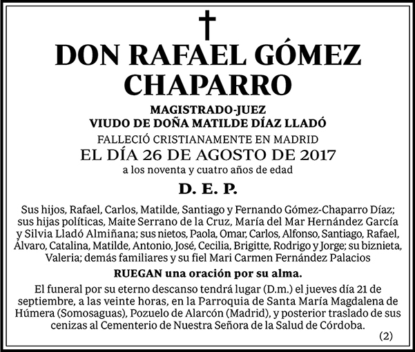 Rafael Gómez Chaparro